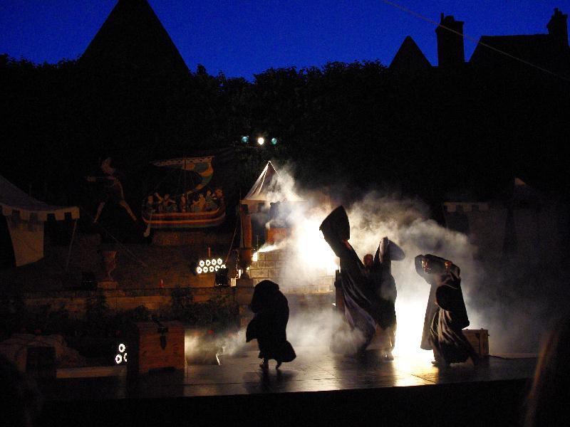 Sonorisation et éclairage pour les fêtes médiévales de Bayeux.