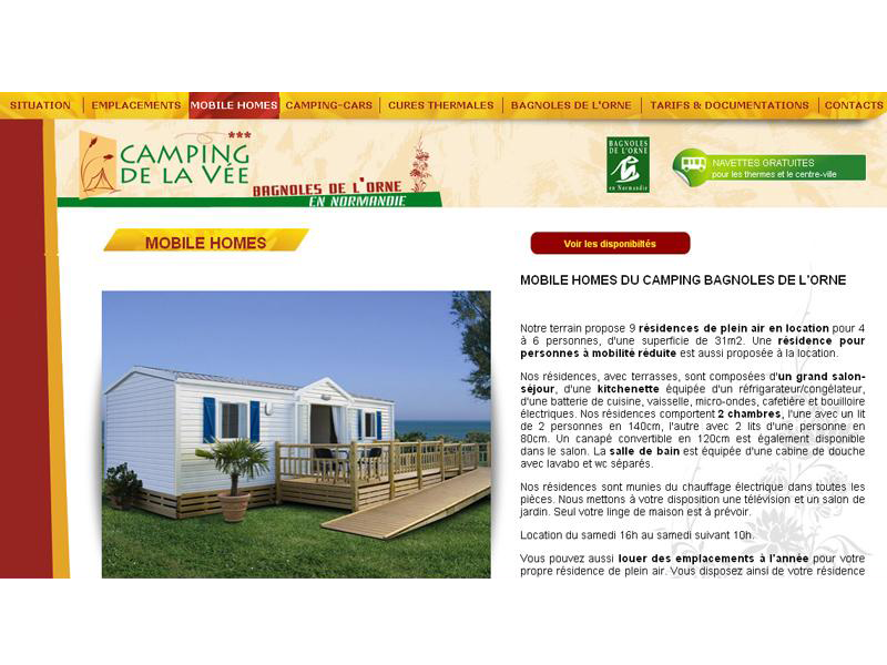 Camping Bagnoles de l'orne