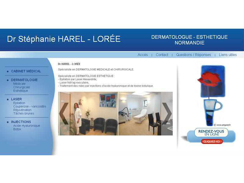 Cabinet Dr Harel-Lore proche Caen
