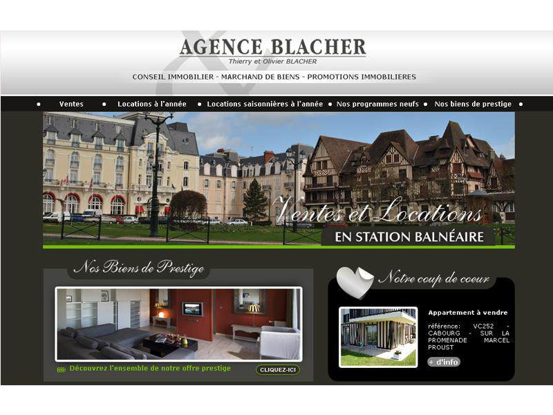 Agence Blacher Cabourg
