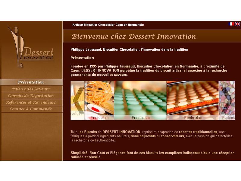 Dessert Innovation proche Caen
