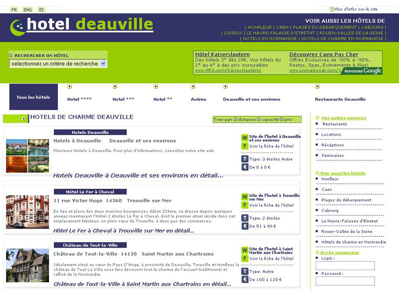Htels  Deauville
