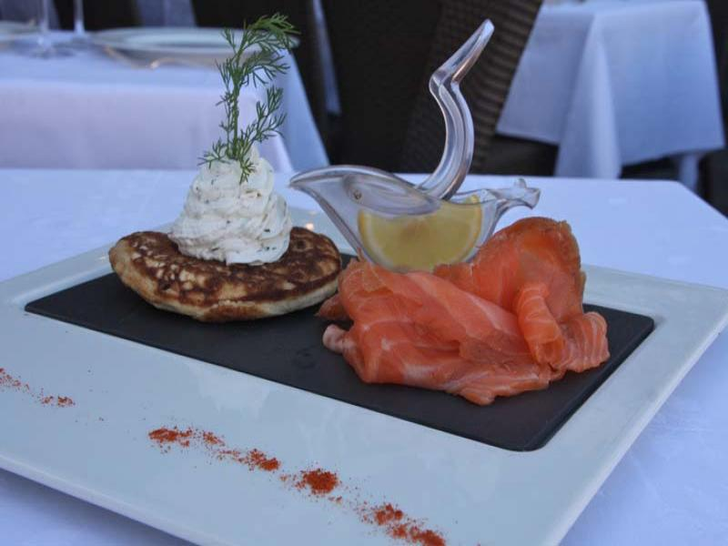 Blinis saumon