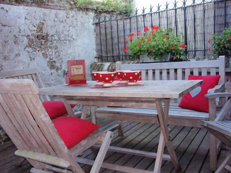 Une terrasse privative