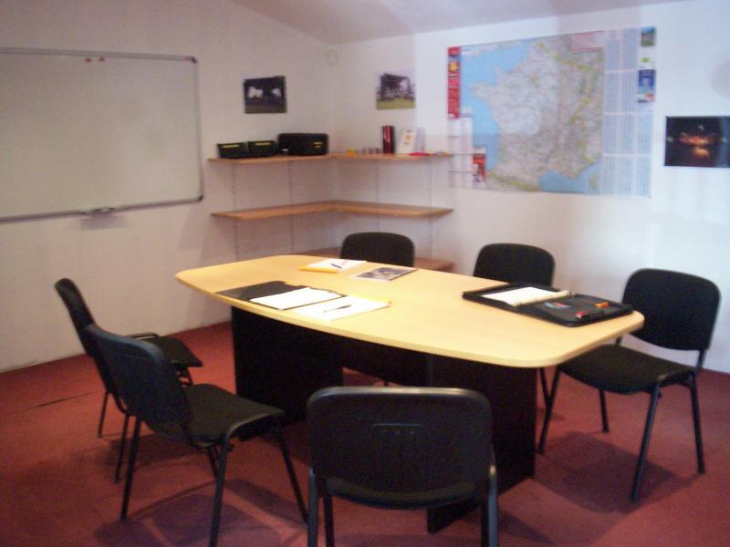Salle de réunion.