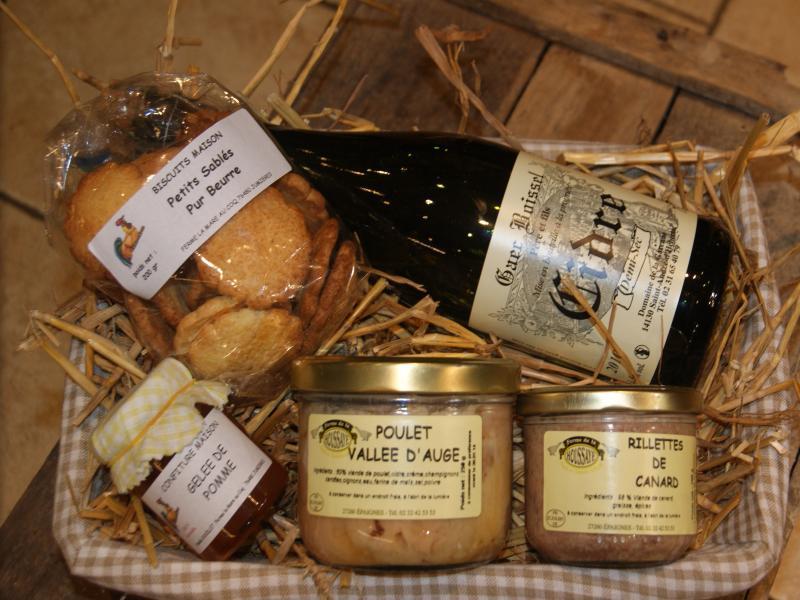 Exceptionnel Panier garnis - produits régionaux normand - Produits locaux  QW77