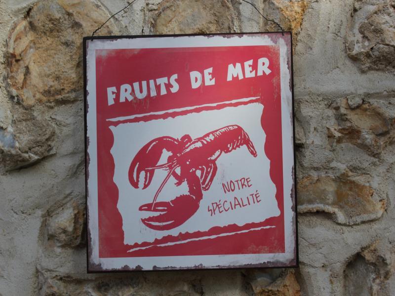Notre Spécialité, Les Fruits de Mer