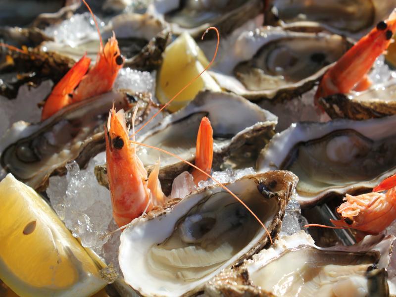 Assiette d'Huîtres de Normandie