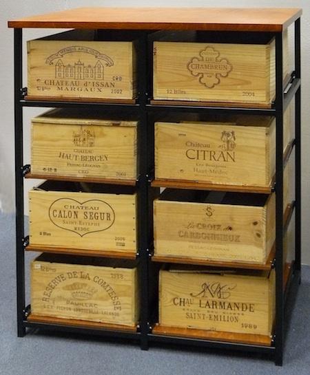 Les casiers à  bouteilles en fer ou metallique