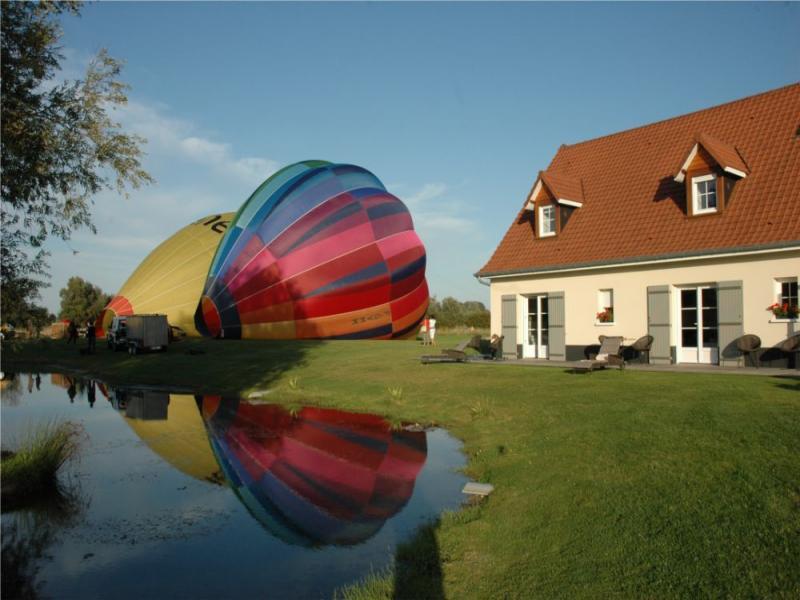 Vol en montgolfière en Baie de Somme