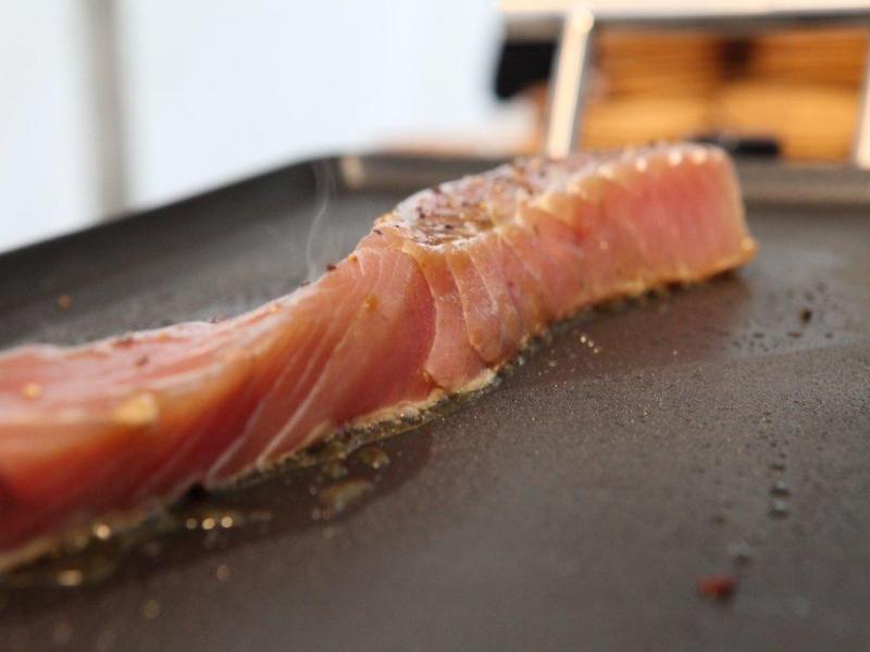 thon rouge à la plancha poivre de séchuan