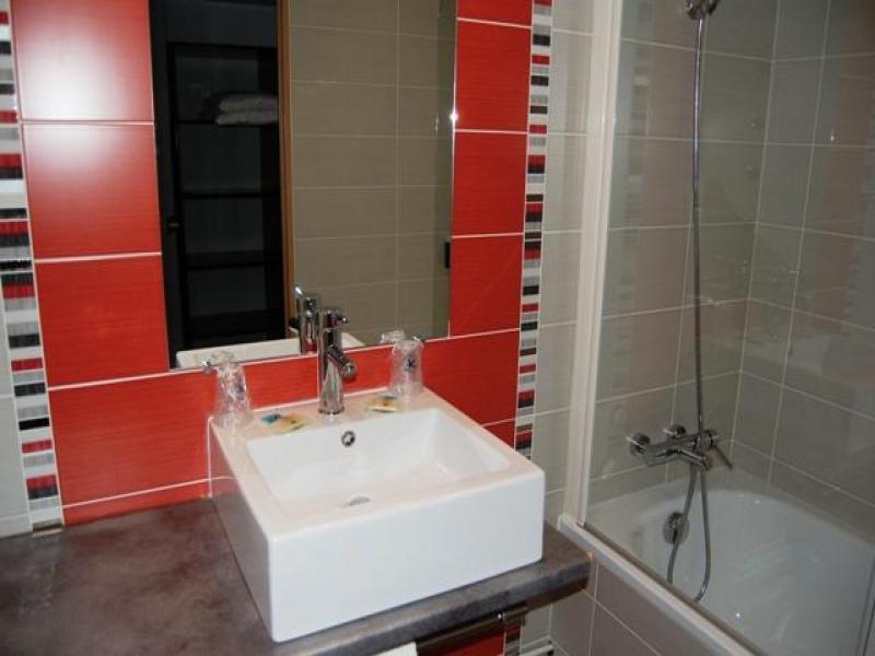 Chambre 2 personnes avec baignoire
