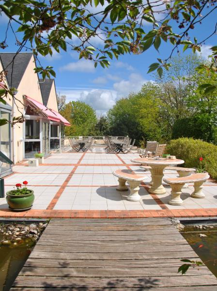 La terrasse : farniente et détente