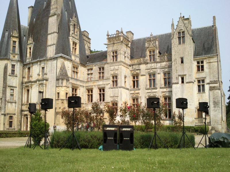 Regie son et lumière - Chateau de Fontaine Henry