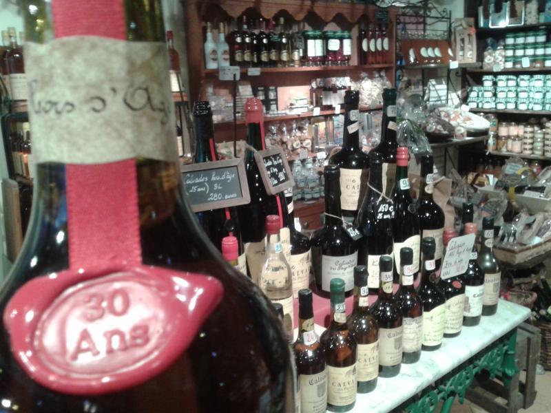 Dégustation Calvados à la Boutique
