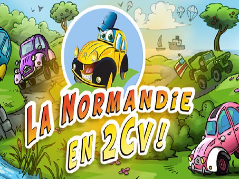 LA NORMANDIE EN 2CV -
