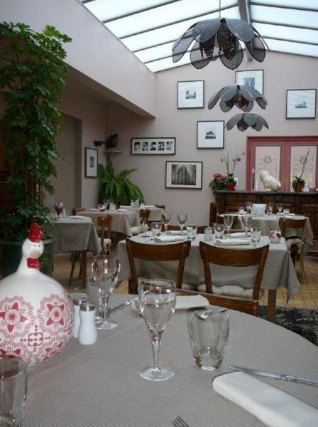 hôtel au soleil d'or - restaurant