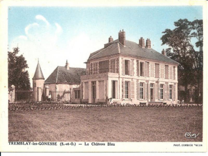 le château bleu avant rénovation