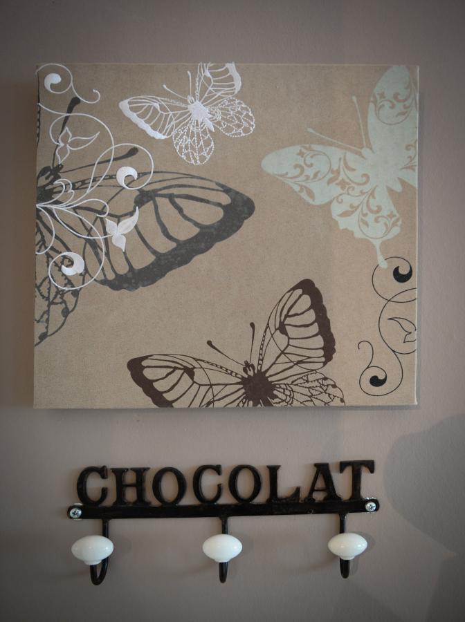 chambre chocolat blanc