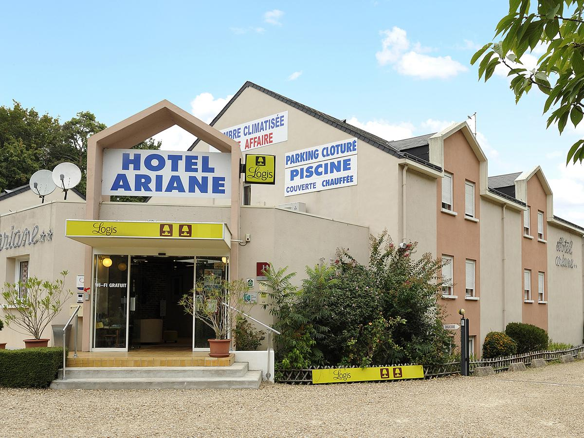 Façade de l'Hôtel Ariane