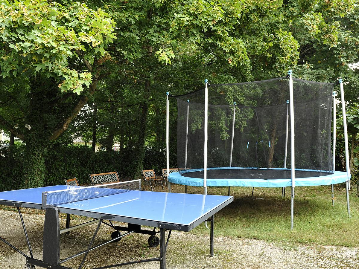 Coins ping pong et trampoline