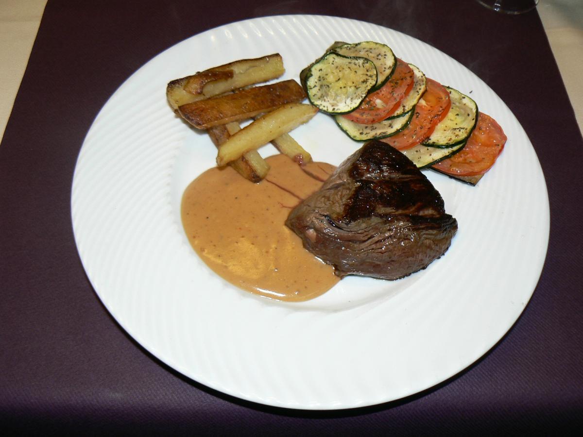 filet de boeuf sauce poivre