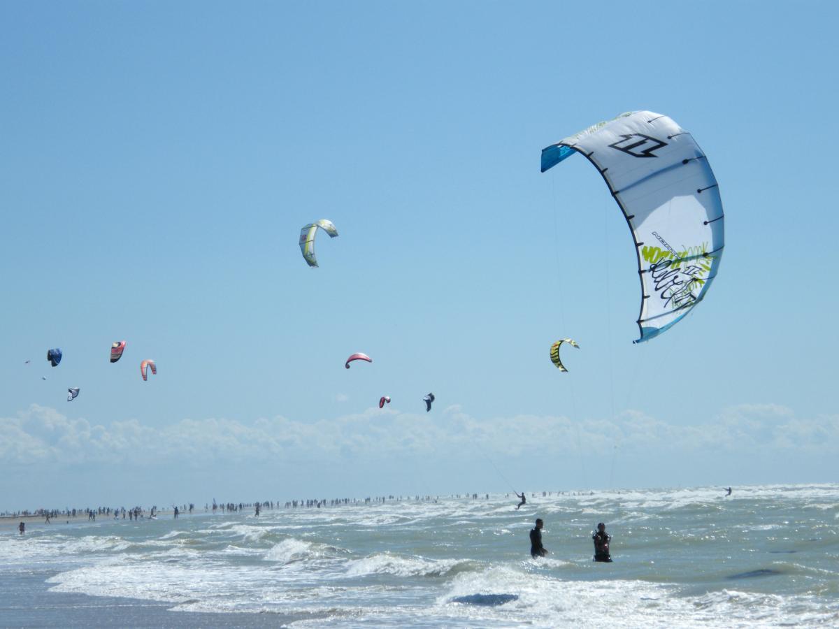 kitesurf en baie de somme