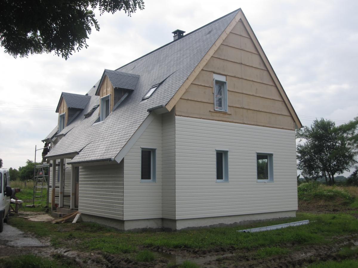 Pillié & Fils Charpente - -Maison en ossature bois