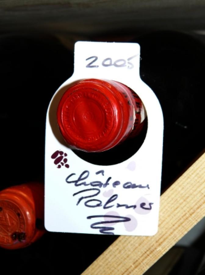Étiquettes bouteilles de vin