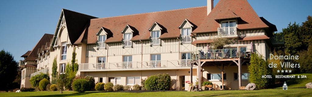 Hotel Deauville Le Domaine de Villers vous propose des séjours détente au spa, des séjours romantique, d'affaires / séminaire, ou encore gastronomique au sein du restaurant de l'hotel.