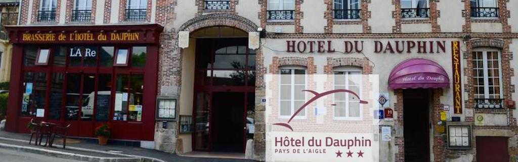 Hotel restaurant en Normandie, Le Dauphin à L'Aigle dans l'Orne vous accueille dans son établissement de 4à chambres au coeur de l'Aigle.
