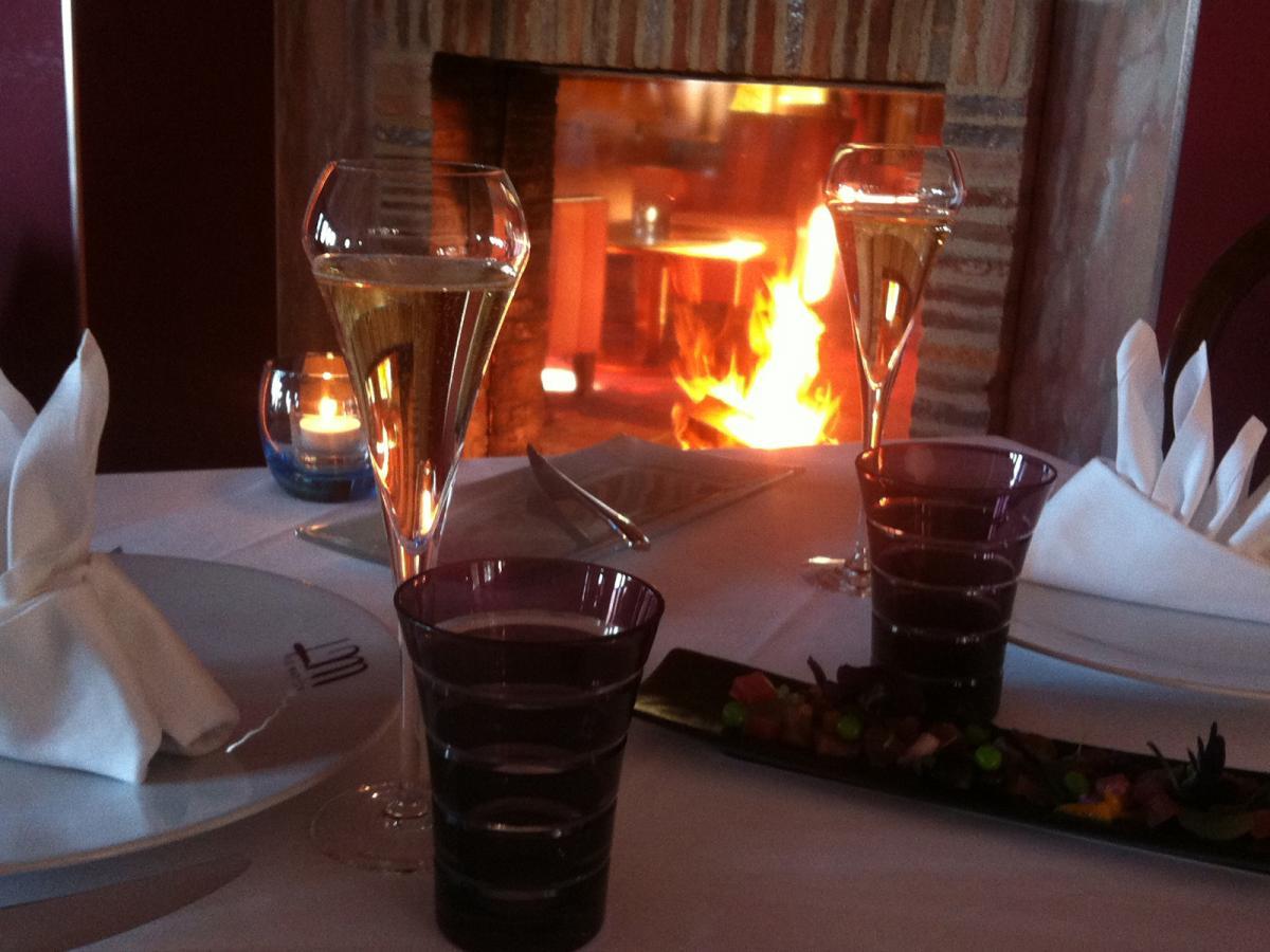 Cuisine gastronomique salon cheminee deauville