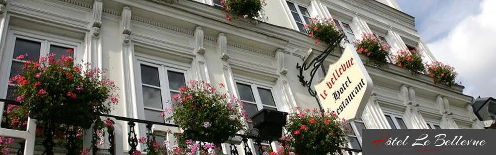 Hotel proche de Rouen, Le Bellevue à La Bouille vous propose de séjourner au bord de l'eau.