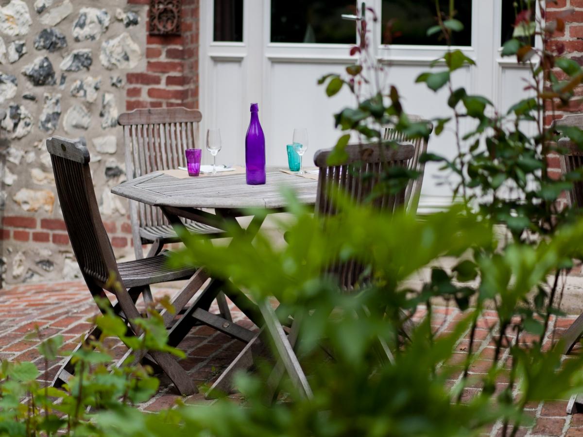 Cabourg restaurants Au jardin, en terrasse