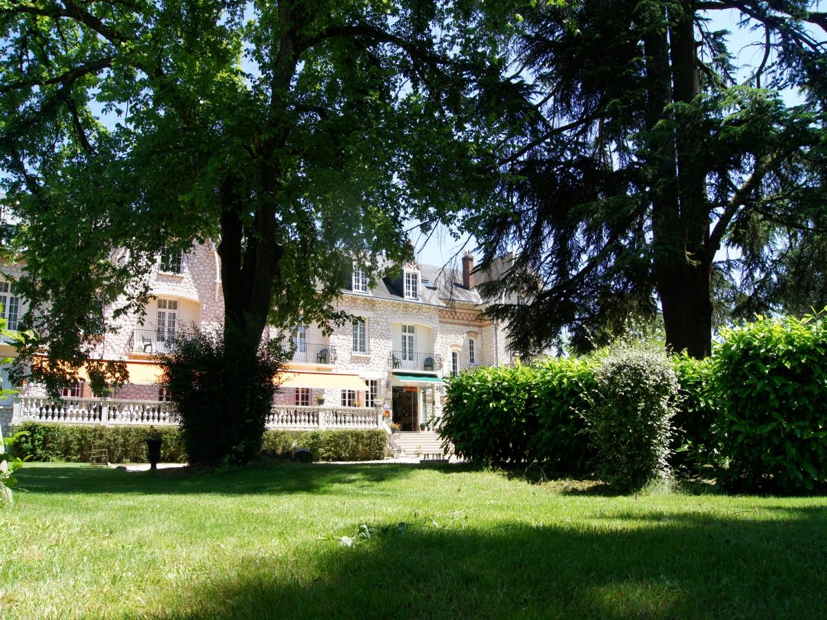 Logis h tel le parc sologne 3 toiles salbris en sologne - Restaurant le jardin gourmand bourges ...