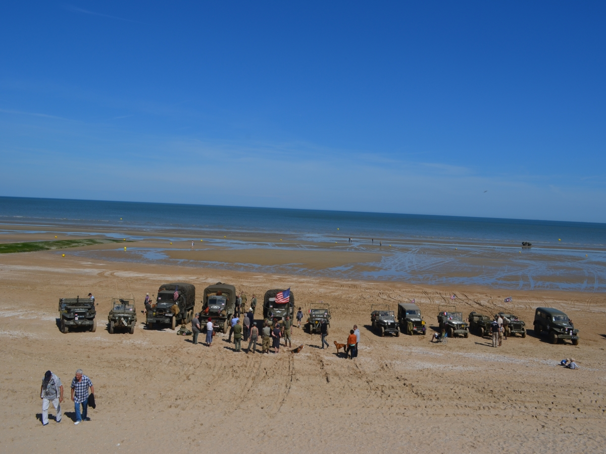 DDAY A CABOURG LE 6 JUIN 2014