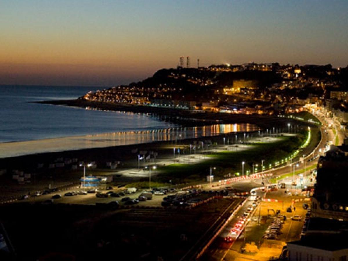 Deauville hôtels Visitez le Havre en drone