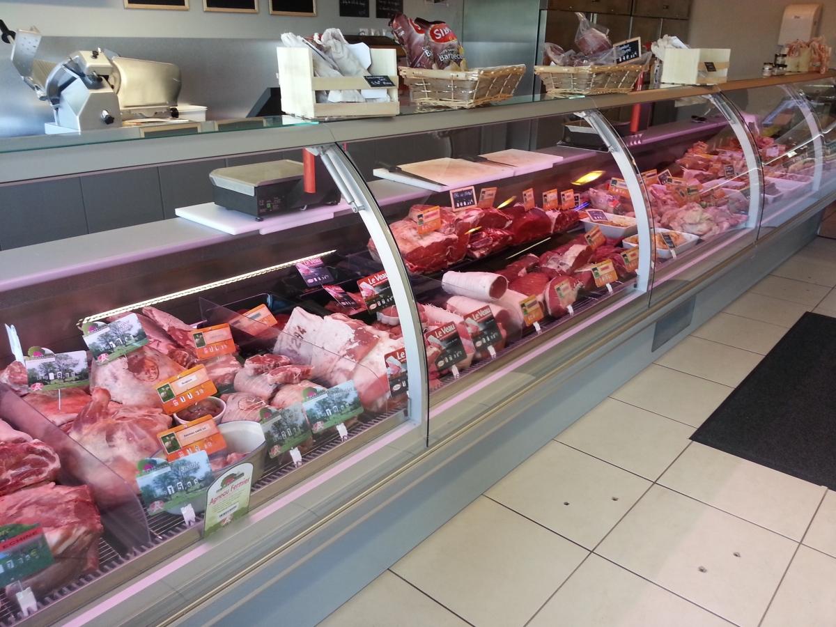Le Comptoir des Halles, magasin de viande au Havre