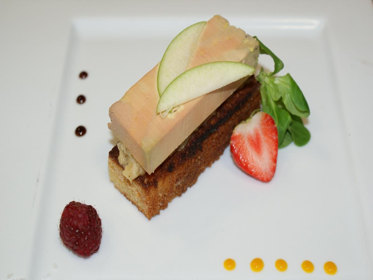 Terrine de Foie Gras au Pommeau