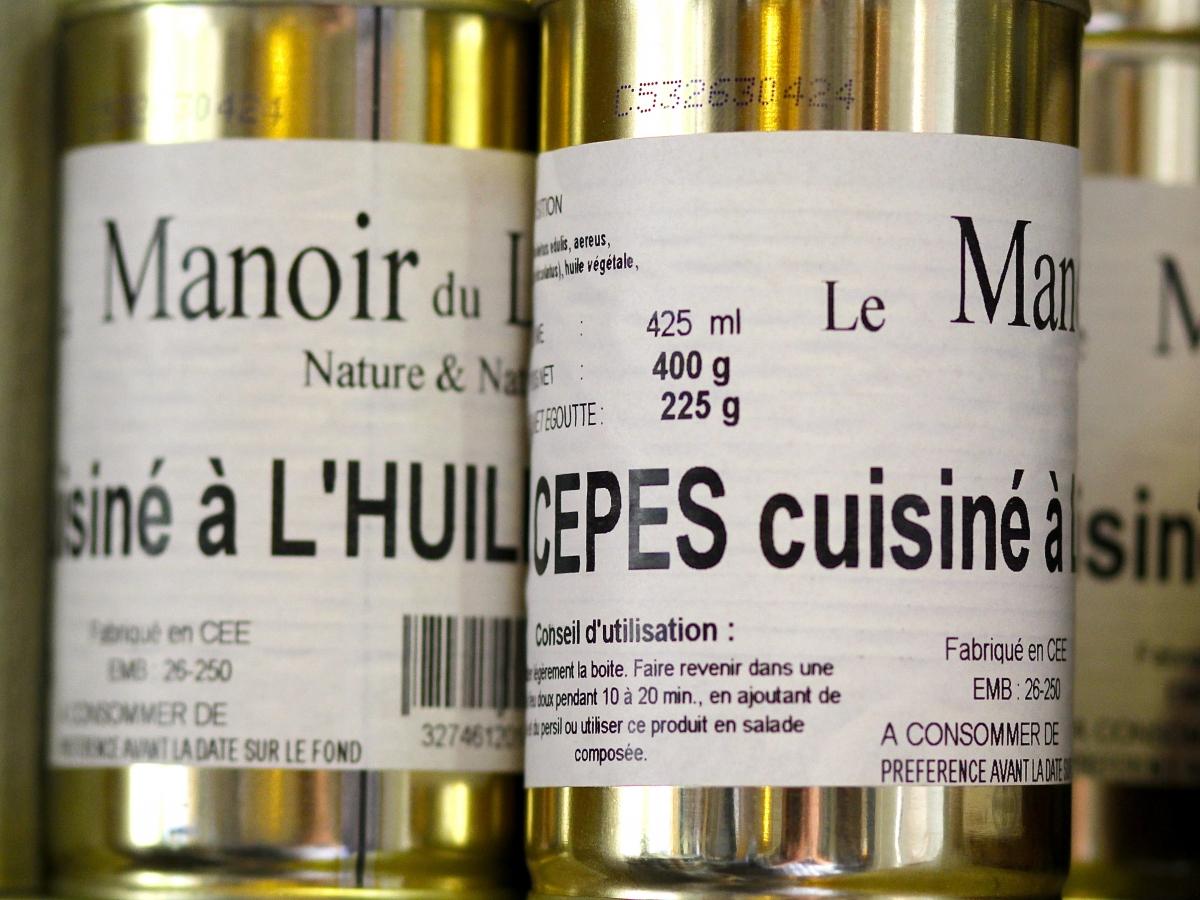 Champignons cèpes à l'Huile d'olive