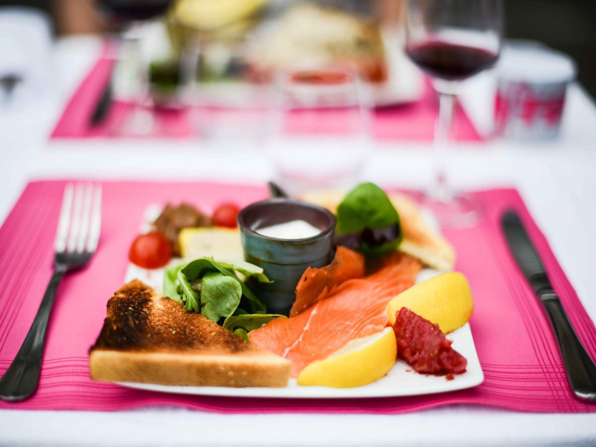 Traditional restaurant in port en bessin - Restaurant port en bessin fleur de sel ...