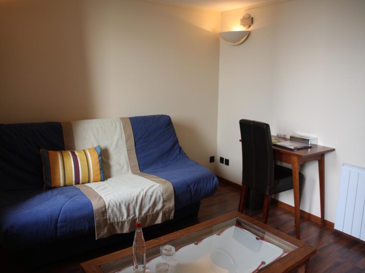 Appartement vue mer : le salon