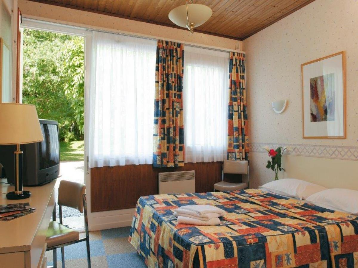 Chambres vue jardin