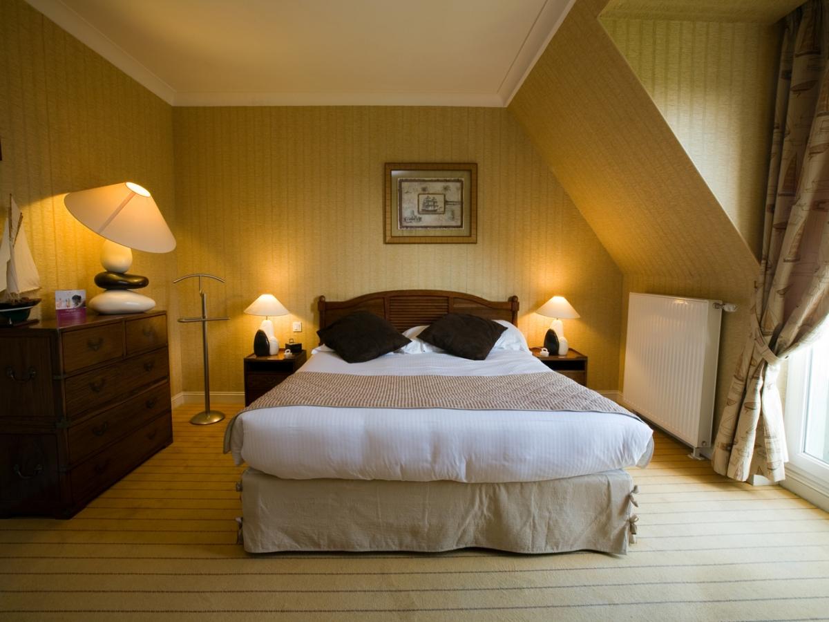 Chambre Confort, d�coration Marine pr�s de Deauville