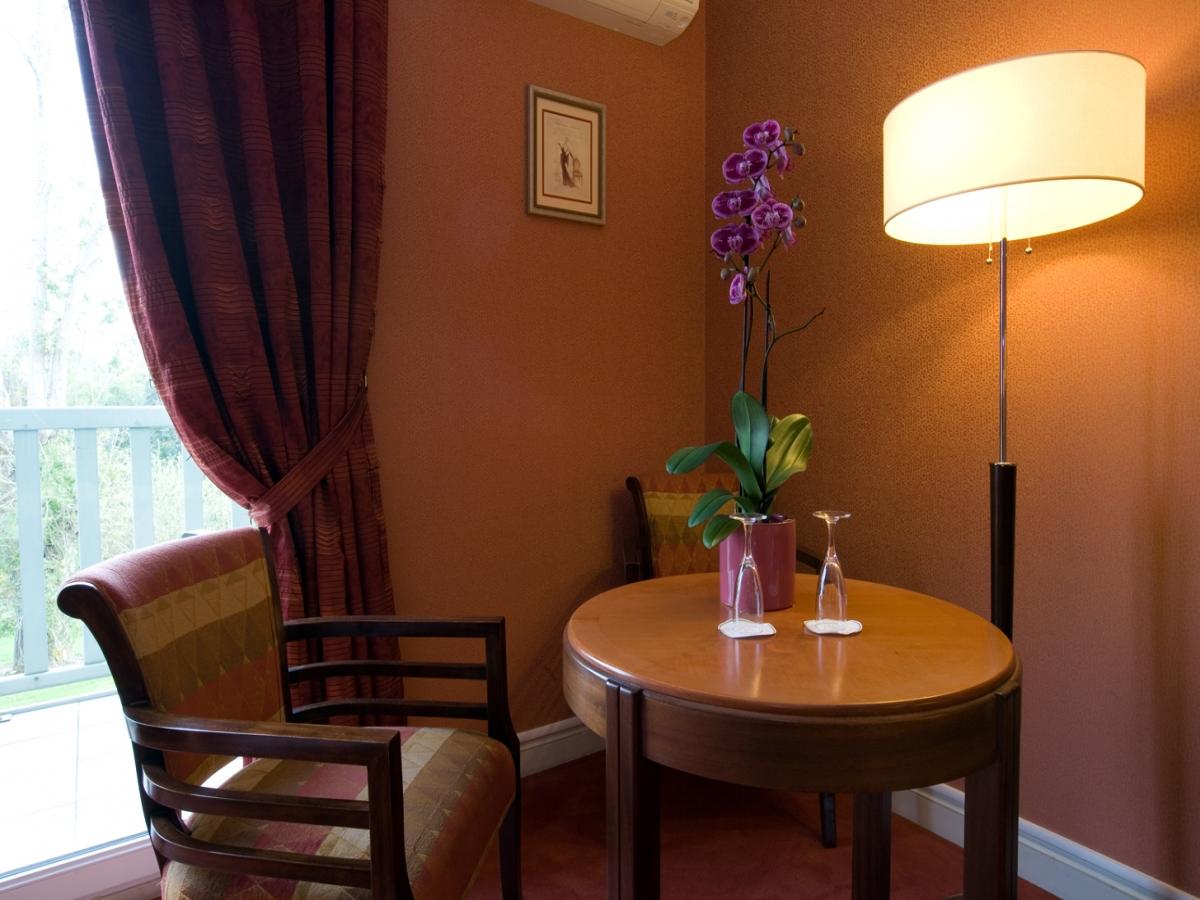 Chambre Sup�rieure, d�coration Art D�co pr�s de Deauville