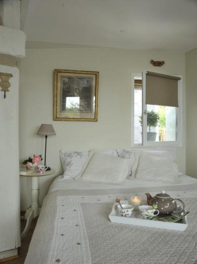 Chambre romantique, ambiance cosy