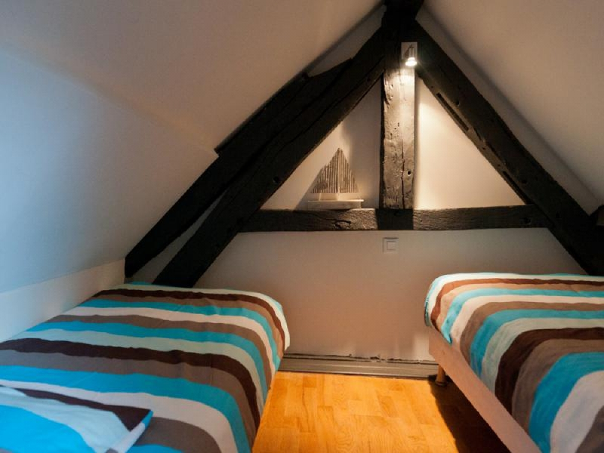Deuxième chambre avec des lits séparés