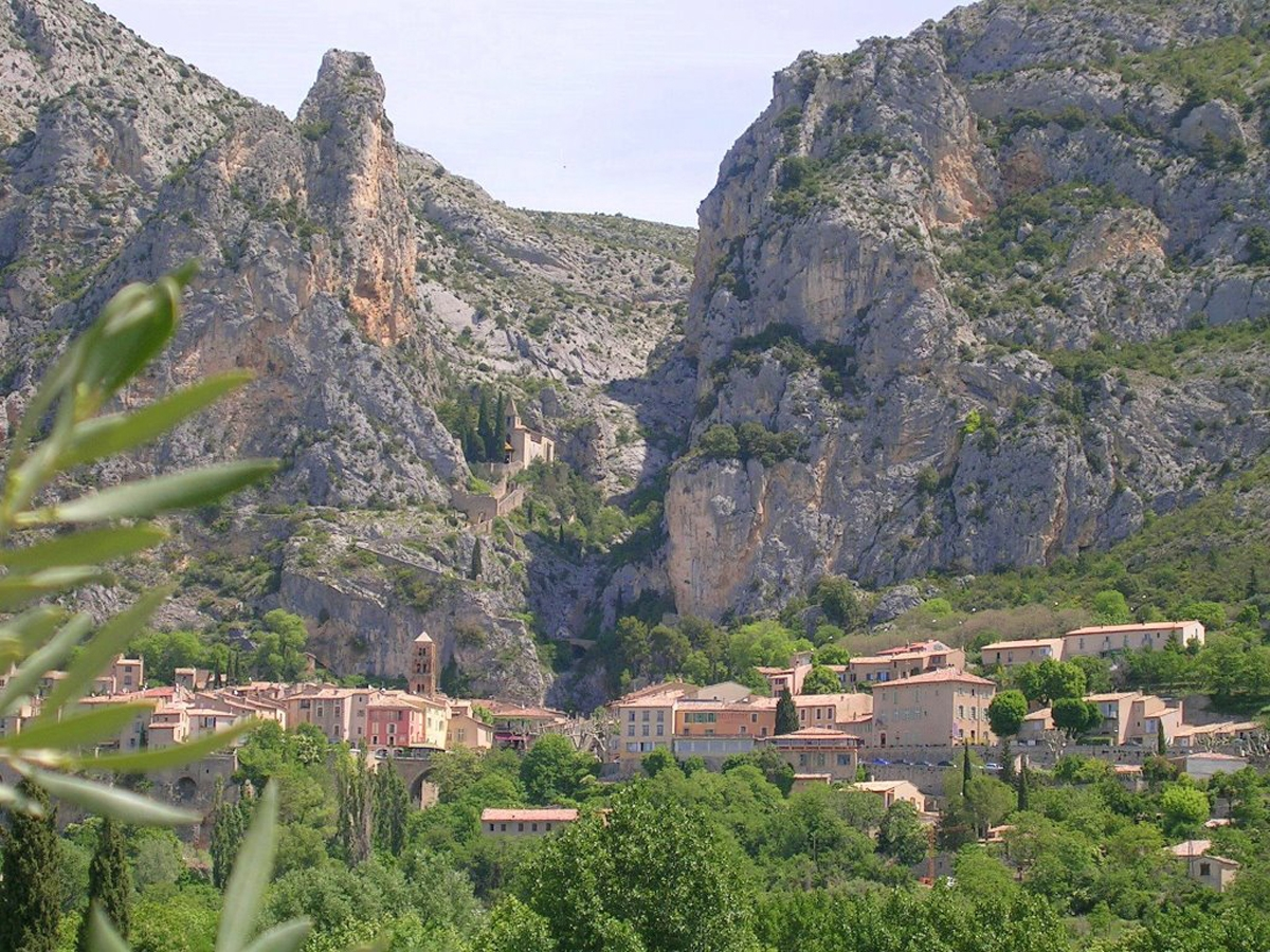 Moustiers Ste Marie the Star of Provence