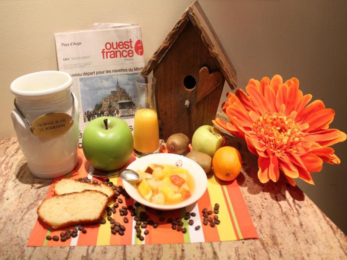 Petit déjeuner Maison des Loges à Honfleur