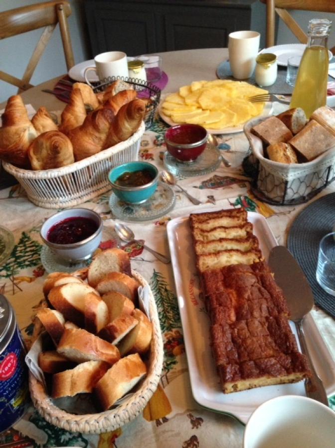 Petit déjeuner gourmand et généreux